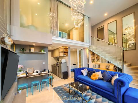 Sapphire Paradise Art Deco Penthouse Private Pool