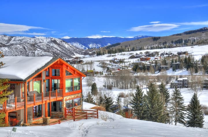 Aspen Exclusivity VIP 5 stars 6B Villa with view