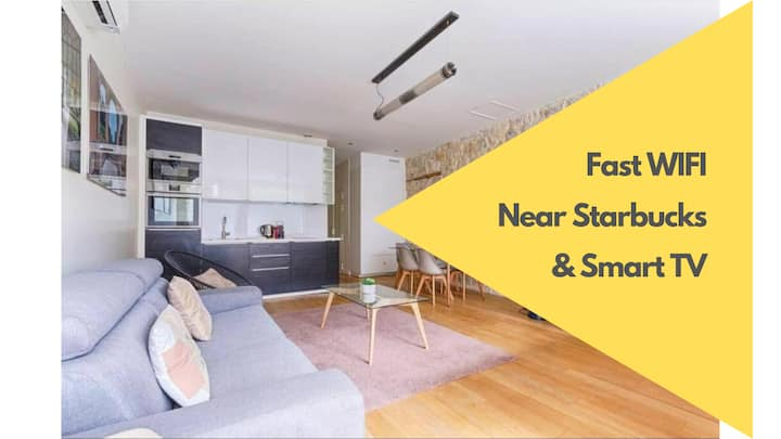 Spacious and renovated flat