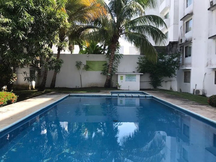 Cómodo departamento en el corazón de Boca del Río