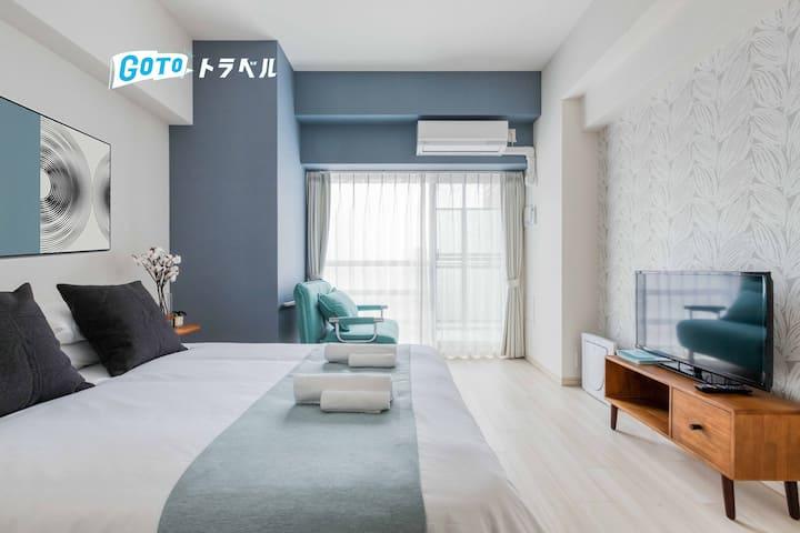 ShinOsaka Sta.3mins/Easy access to KYOTO/UMEDA/USJ