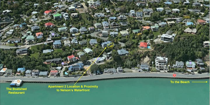 Kimberley House Apartment 2 - Nelson Waterfront