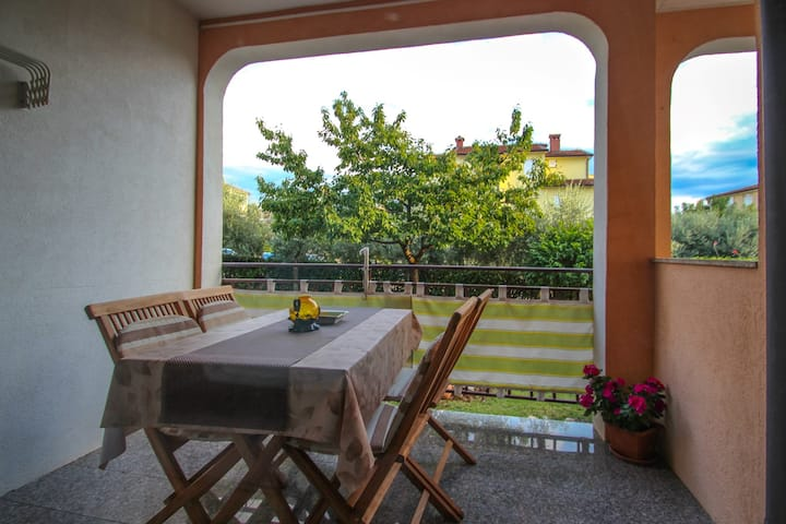 Family apartment Valter with lovely terrace