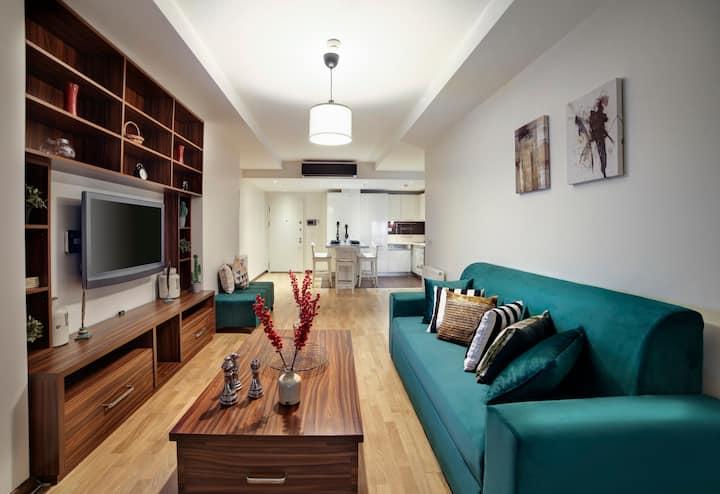 Luxury Residence in Şişli (Pool/Garage/Gym)