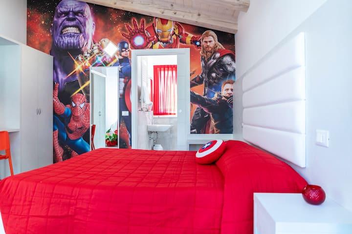Bilocale Ciccio Super Heroes Apartment Misano