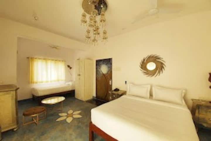 B laxmi Deluxe Suite Room-2 Beds in Vagator - View