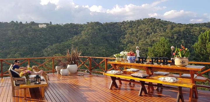 Vila Shukran .  Vista Paradisiaca e muito conforto