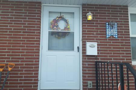Front door is 36 inches wide