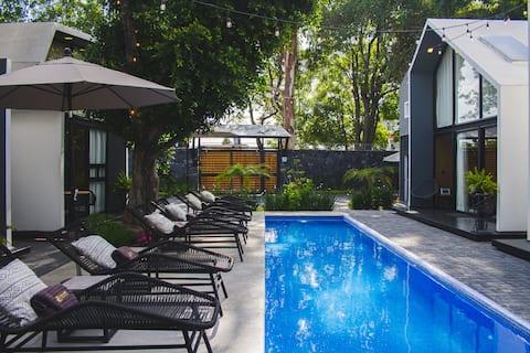 Casa Samadhi - Villa #1 Namaha para dos + Tina