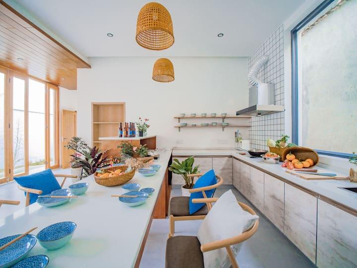 【大理古城】文献楼旁独栋民宿-4居可住6~8人;出行便利,周边各色美食;可以免费使用厨房及洗衣机