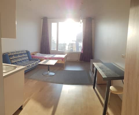 Lasnamäe stuudio uues majas /studio in a new house