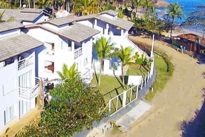 ⭐️ Casa Pé na Areia ⭐️ Alto Padrão a 30m da Praia!