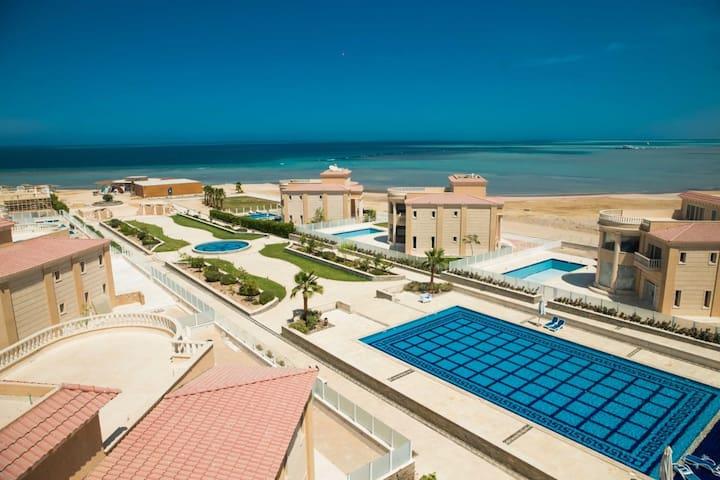 Ocean View 1 bed apartments Hurghada short long