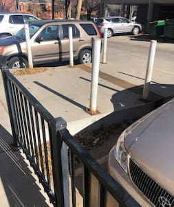 Wheelchair accessible ramp to door