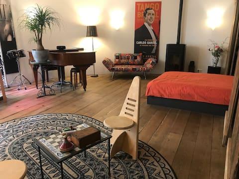 Atelier Margot, tussen Maas en Pietersberg