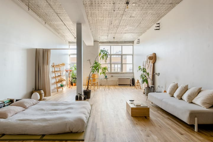 Cosy artist loft in east Williamsburg