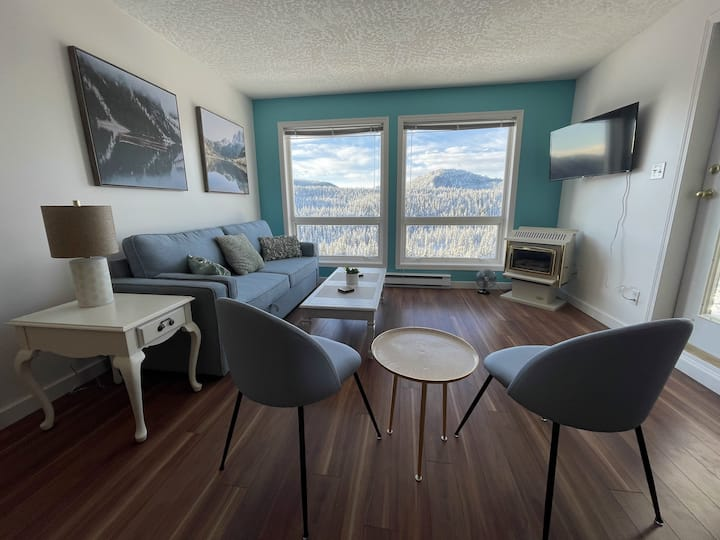 Ski in/out 2-bed Condo @ Mount Washington