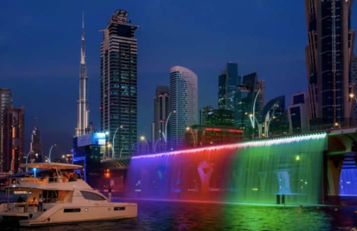 Dubai Waterfront, Burj Khalifa and Dubai Mall Near