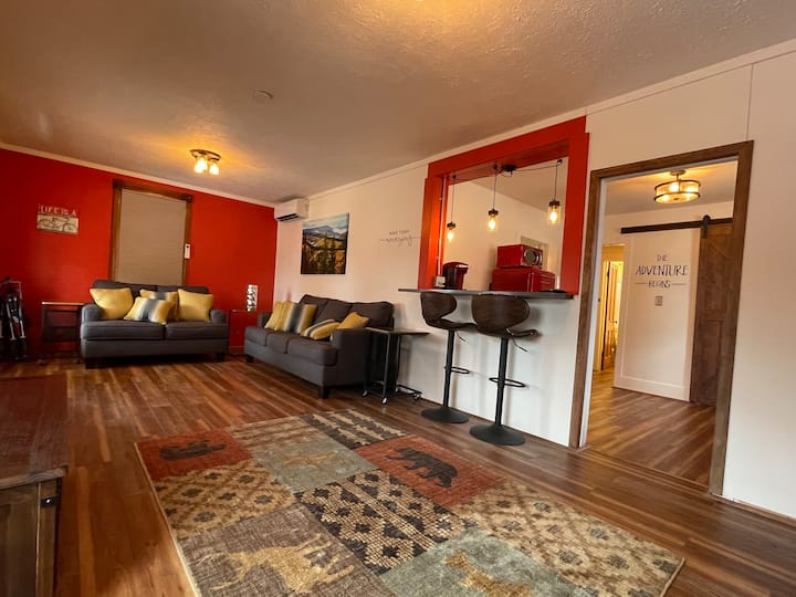 Reinvigorate in our charming house on Main Street