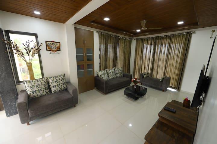 vajra villa living room