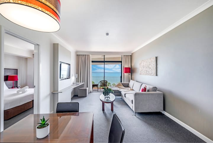 Enjoy two adjacent Oceanview Apts with Resort Pool