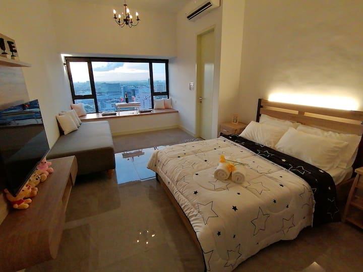 NEW) Melaka Imperio StayLovely *Sea View*WIFI*3Pax