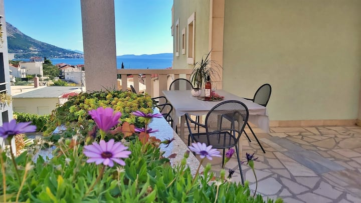 One-bedroom apartment DaMa for up to 3 persons