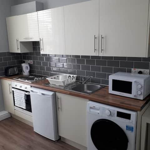Bright one bedroom flat + WIFI - Dublin 1