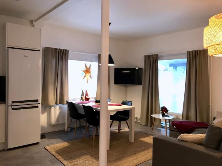 Moderni tyylikäs huoneisto Perhon keskustassa.