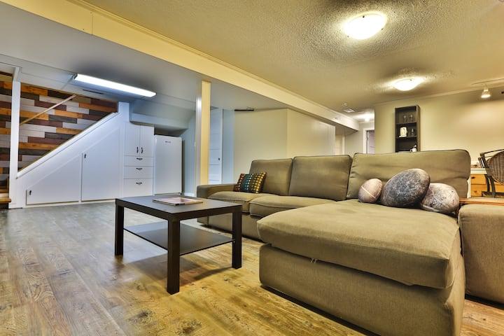 Cozy 1 Bdrm Basement Suite