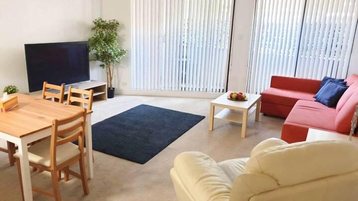 Cosy 2-Bedroom Home away Home+ PRKG