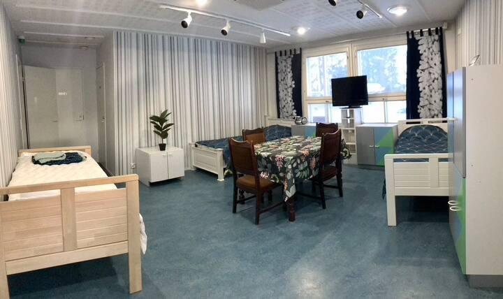Rauhallista majoitusta 60 m2