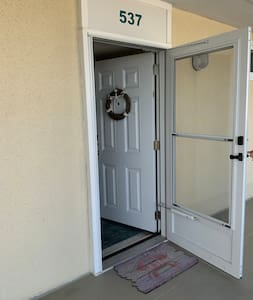 """- Entrance to the unit. 33"""" wide"""