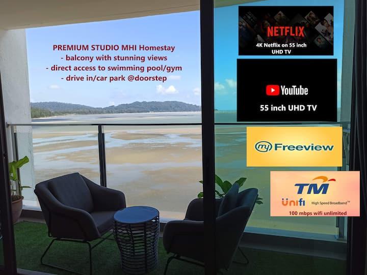 PREMIUM SEAVIEW studio MHI Homestay @Kuantan