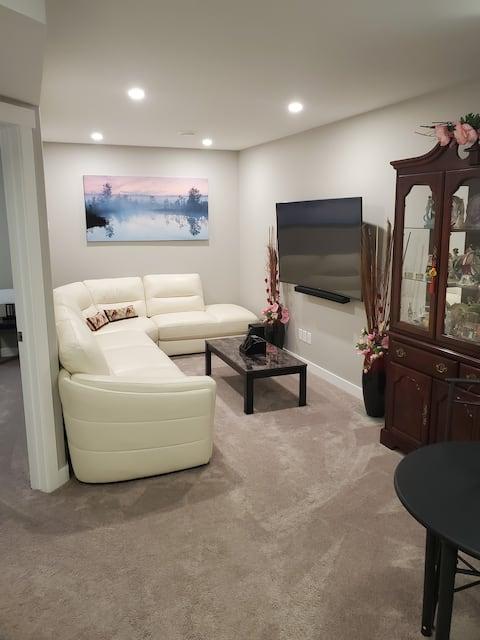 Cozy Basement suite.