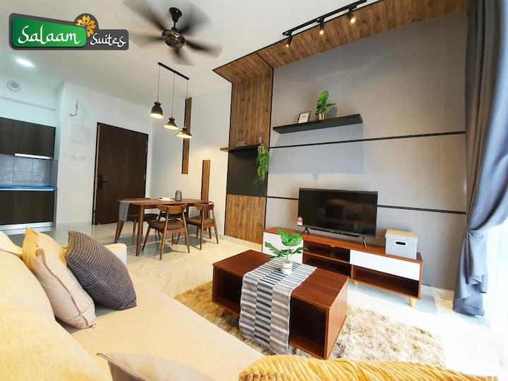 Troika Avenue by Salaam Suites, 1B, 3 pax