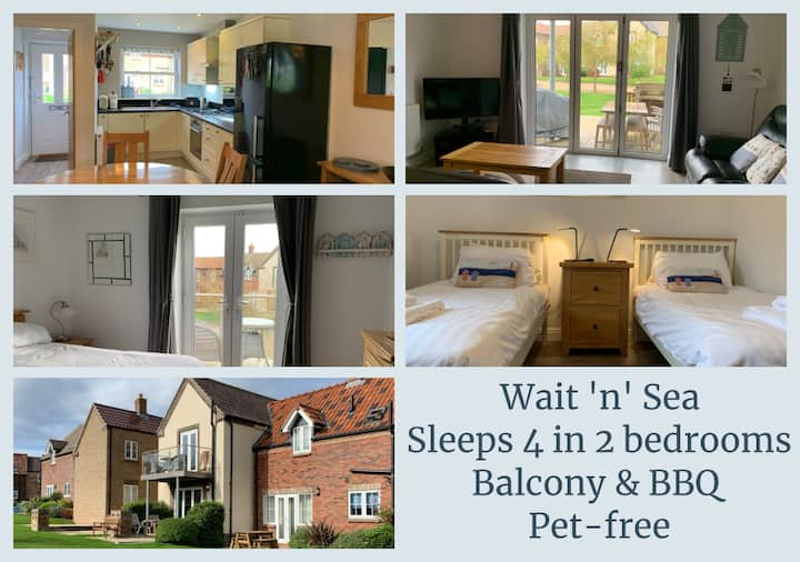 NEW - Wait n Sea  - The Bay Filey - 2 bedrooms