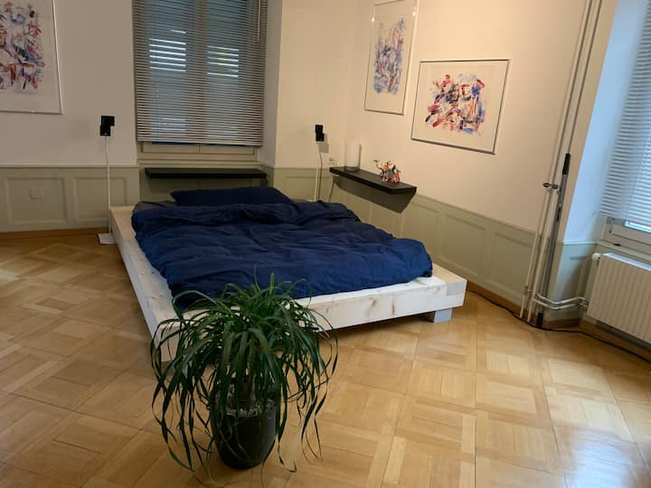 Big privat Room 29 m2 in the centre of Thun