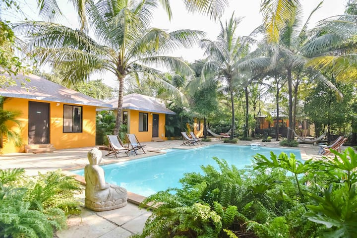 8BHK Cottage Style Luxury Villa with Pool - Awas