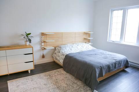Modern spacious apartment in Lachine (Montréal)