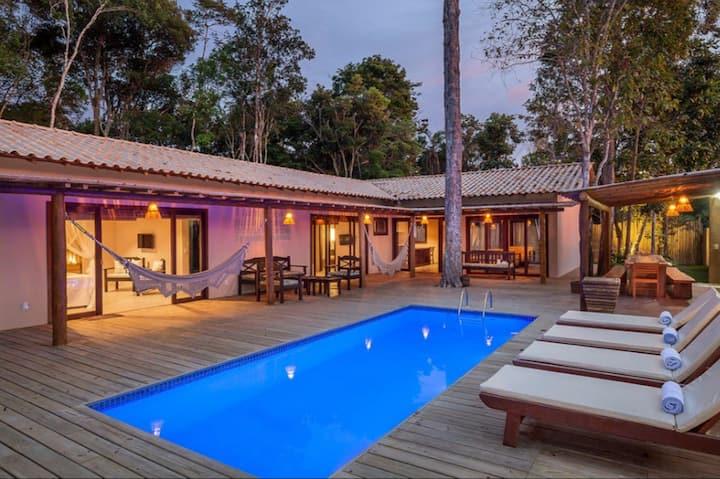 Villa charmosa e privativa em Trancoso.