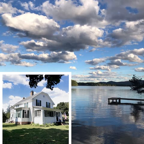 On the lake, Private waterfront , 5 bedroom, Views