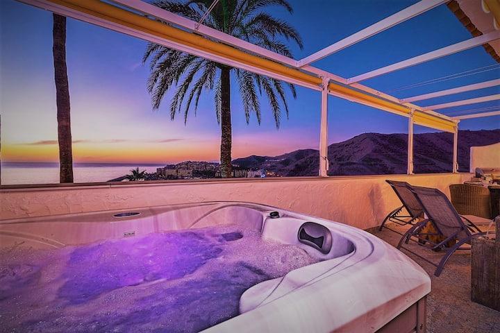 GRAN CANARIA luxury apart. with sea views, jacuzzi
