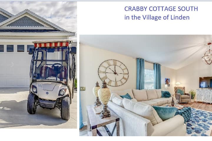 Crabby Cottage South with Golf Cart!
