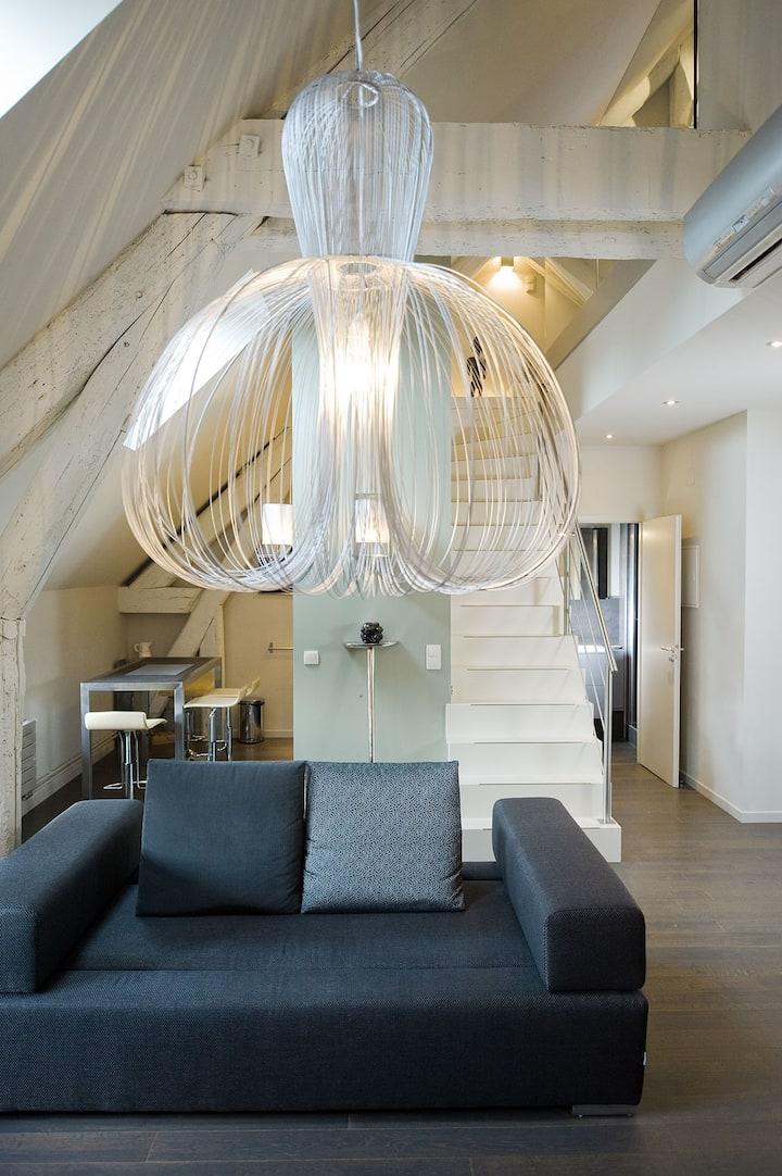 Loft contemporain à deux pas de la place Stanislas