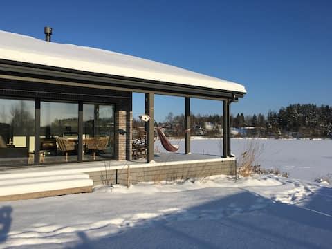 COSY sauna house romantic getaway 14km fromVilnius
