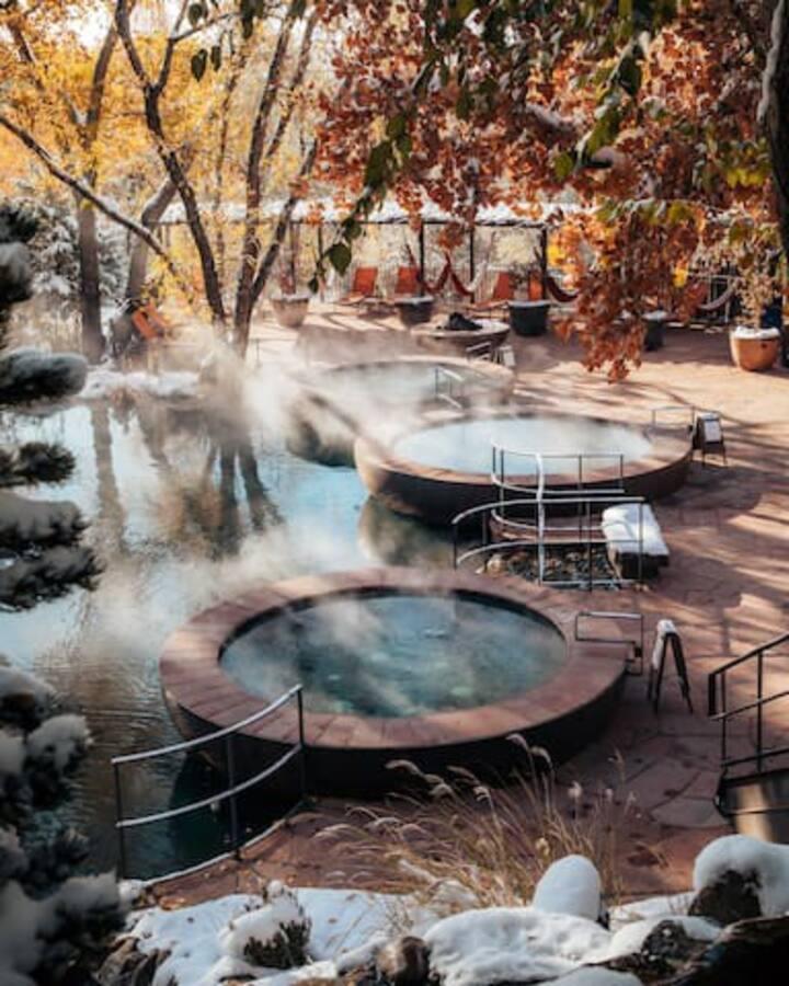 Casita & Hot Springs Soaking @ Ojo Santa Fe