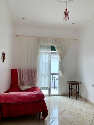 Guests Room in summer
