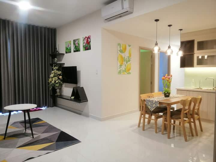 Safira Khang Dien, 3 bedrooms, 2 bathrooms.