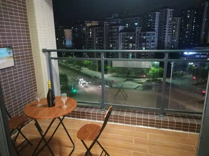 城南高铁温馨投影民宿公寓